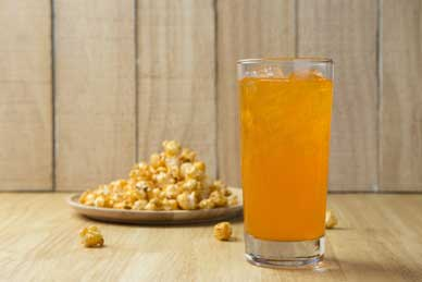 Foods That are Killing Your Sex Drive, popcorn, soda