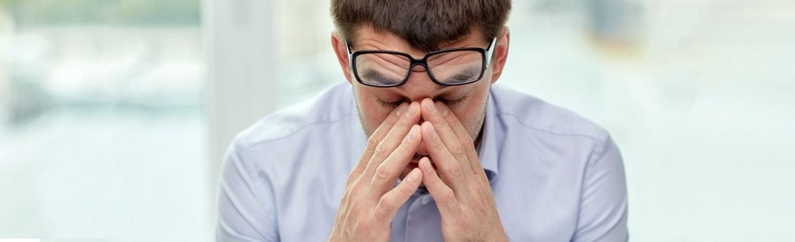 Prolonged Stress Can Cause Vision Loss